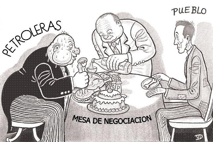 El regionalismo favorece a las transnacionales (Petropress 2, septiembre 2006)