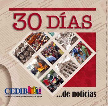 Anuario 2010, 30 Días de noticias