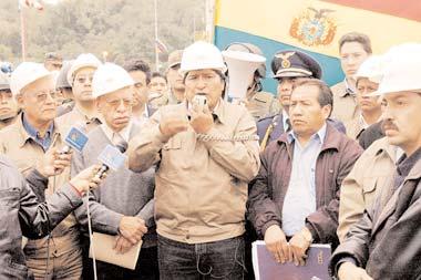 """BoliviaPress Agosto 2006: """"Nacionalización"""" de hidrocarburos, tres meses después"""