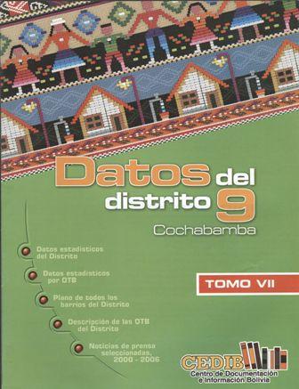 Datos de la zona sur. Distrito 9