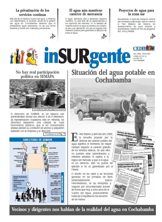 inSURgente, noviembre 2008