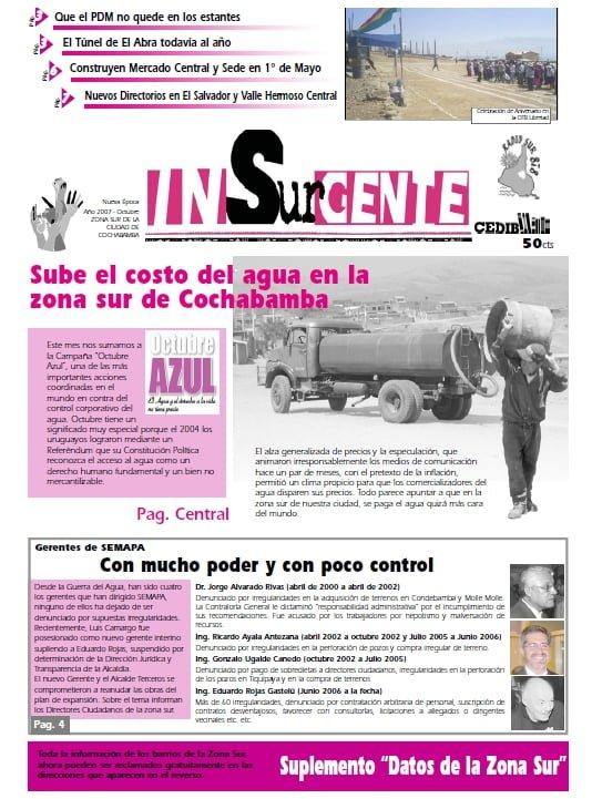inSURgente, octubre 2007