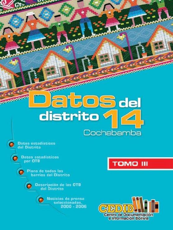 Datos de la zona sur. Distrito 14