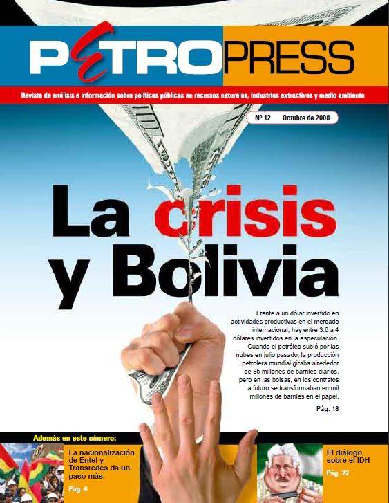 PetroPress No.12: La crisis y Bolivia