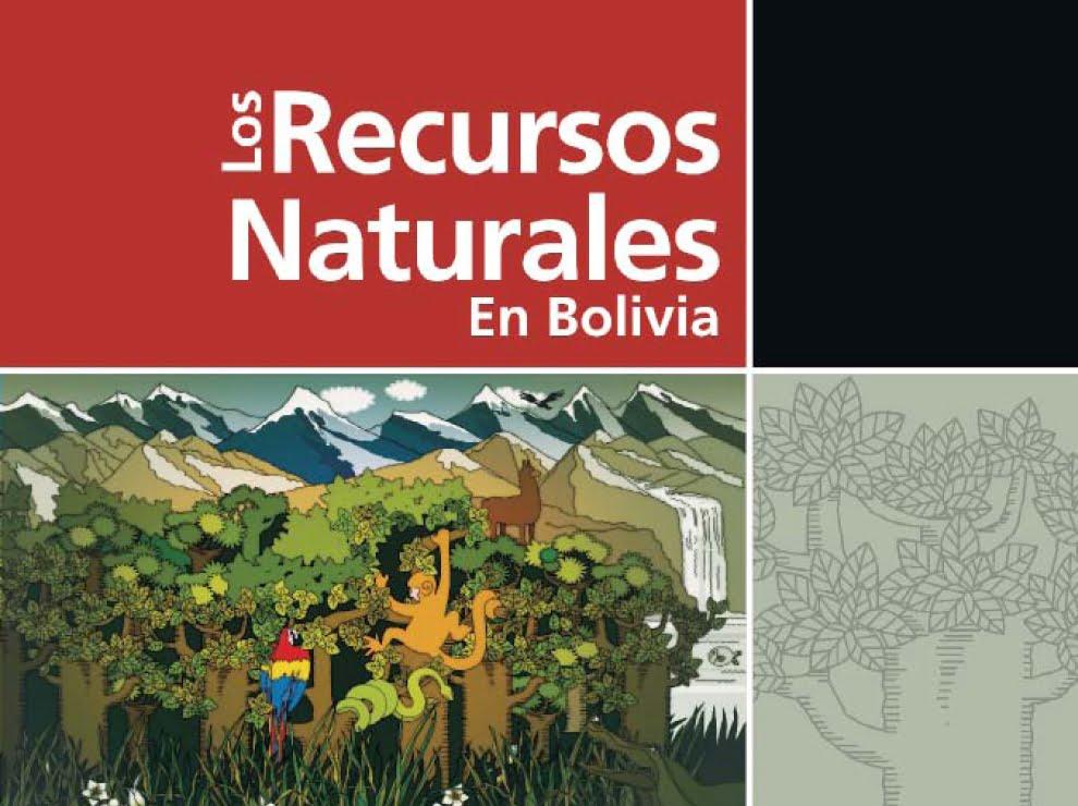 Los recursos naturales en Bolivia (I)