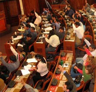 BoliviaPress 05.09. Ley de régimen electoral transitorio: Nueva negociación en el congreso
