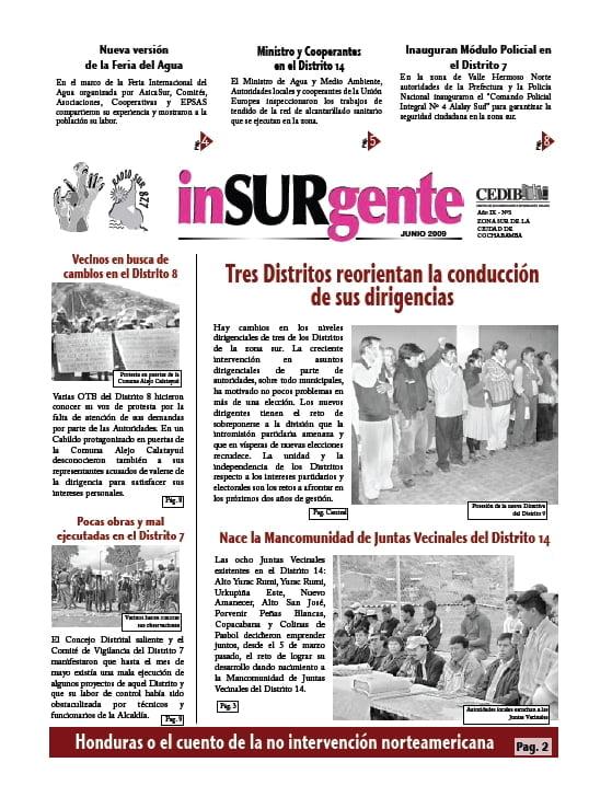 inSURgente, 06.2009