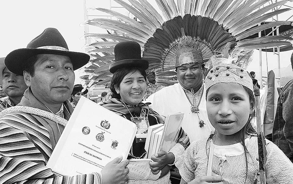 BoliviaPress 08.2009. Territorialidad de la Autonomía Indígena: Elemento fundamental en la construcción del Estado Plurinacional