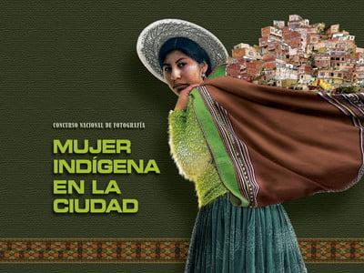Mujer indígena en la ciudad. Libro del concurso de fotografía