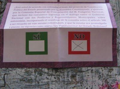 Dossier hemerográfico. Bolivia: Entre diálogos y consulas nacionales