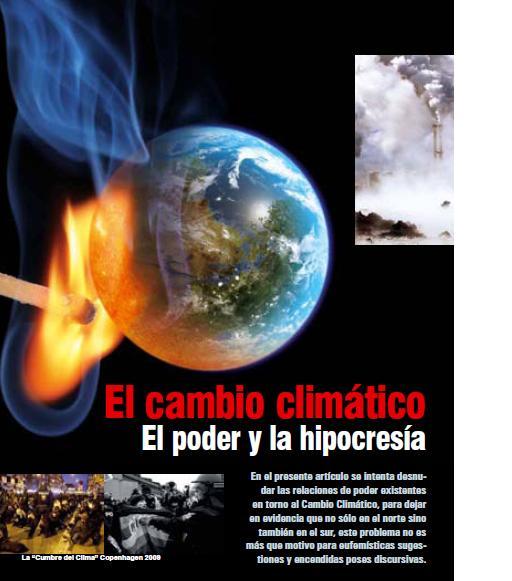 El cambio climático: El poder y la hipocresía (Petropress 18, 1.10)