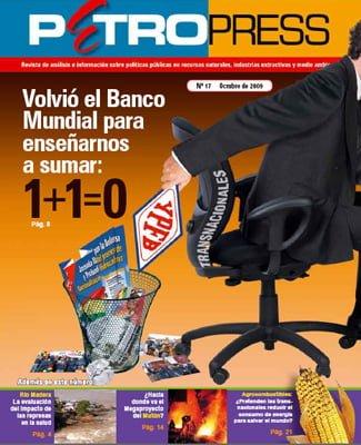 Petropress 17: Volvió el Banco Mundial para enseñarnos a sumar: 1+1=0