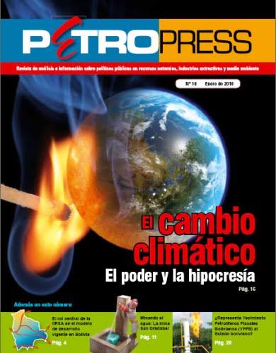 Petropress 18: El cambio climático. El poder y la hipocresía