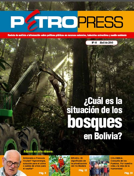 Petropress No. 19: ¿Cual es la situación de los bosques en Bolivia?