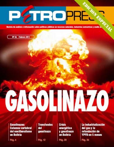 Petropress Edición Especial: GASOLINAZO