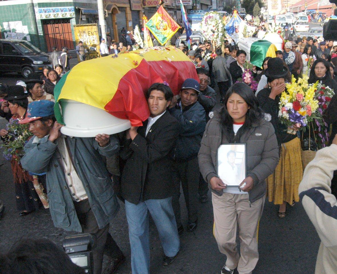 Manifiesto de apoyo al documento suscrito por las víctimas de la masacre de Porvenir-Pando
