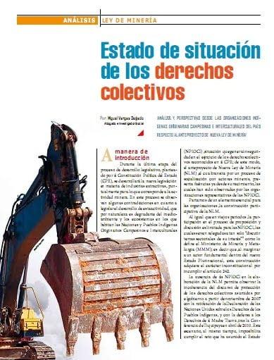 Estado de situación de los derechos colectivos (Petropress 26, septiembre 2011)