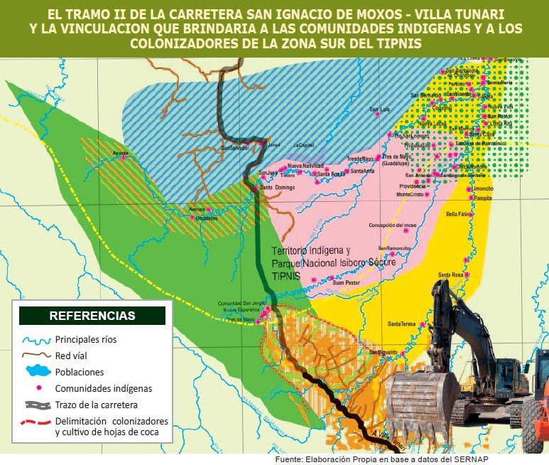 La carretera Villa Tunari-San Ignacio de Moxos ¿A quién beneficia? (Petropress 27, 11.11)