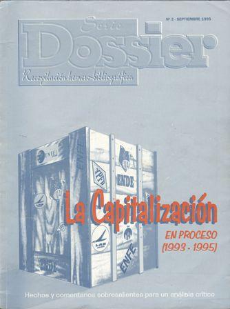 La capitalización en proceso (1993-1995)
