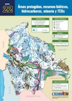 Áreas protegidas, recursos hídricos, hidrocarburos, minería y TCOs