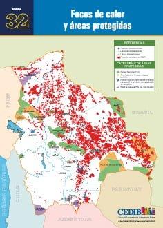 Focos de calor y áreas protegidas