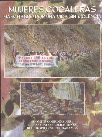 Mujeres cocaleras. Marchando por una vida sin violencia