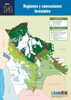 Regiones y concesiones forestales