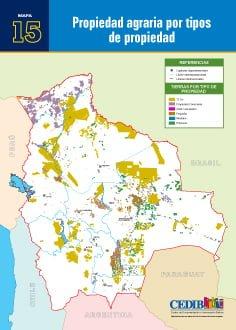 Propiedad agraria por tipos de propiedad