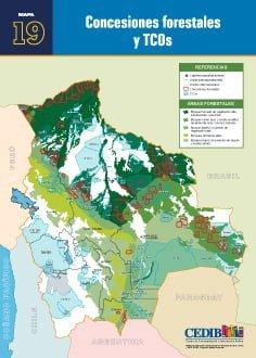 Concesiones forestales y TCOs