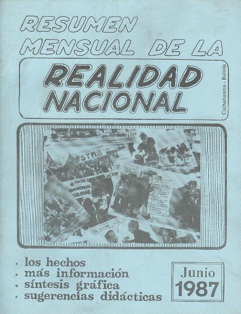 Resumen de la Realidad Nacional (Junio 1987)