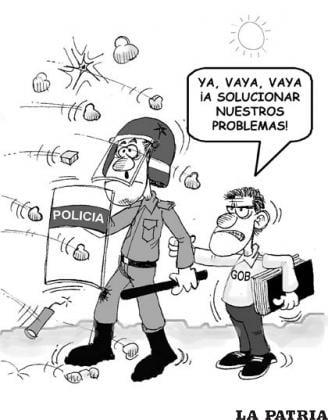 La Patria, 11 de mayo de 2013 (Bolivia)