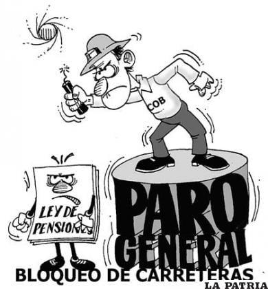 La Patria, 6 de mayo de 2013 (Bolivia)