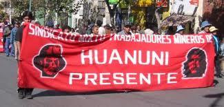 La impostura del Gobierno sobre Huanuni