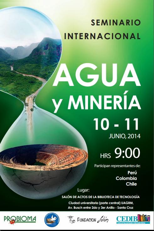 Conclusiones del Semianrio Agua y Minería