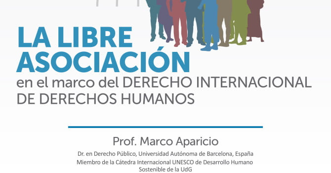 La Libre Asociación en el marco del Derecho Internacional de DDHH (8 abril, La Paz)