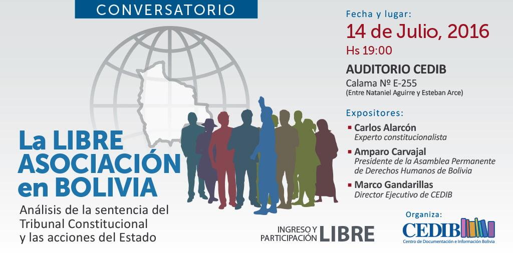 Libre Asociación en Bolivia