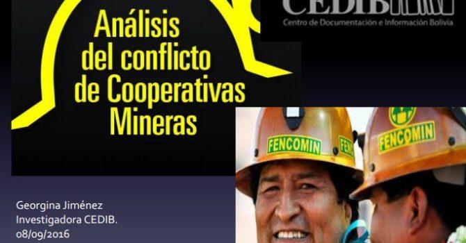 Relación del sector cooperativo minero con el Gobierno