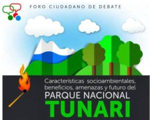 programa Foro Parque Nacional Tunari