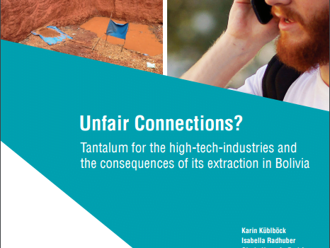 Unfair Connections? Tantalum for the high-tech-industries and the consequences of its extraction in Bolivia