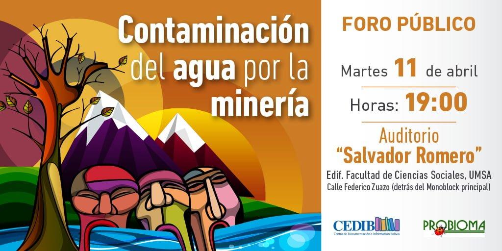 Contaminación del agua por la minería