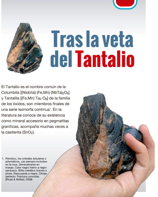 Tras la veta del Tantalio (CEDIB, 2017)