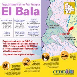 Proyecto hidroeléctrico El Bala - Bolivia