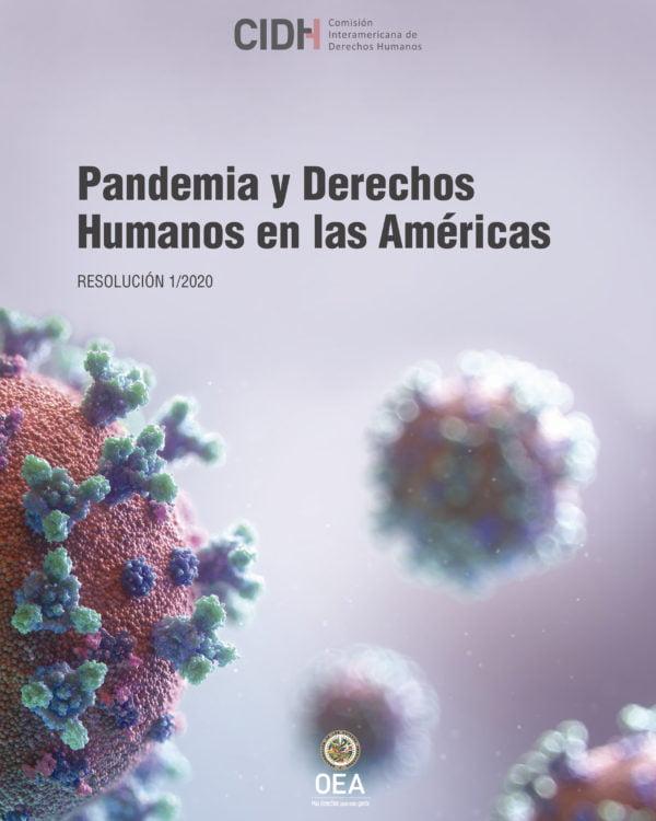 Pandemia y Derechos Humanos en las Américas (Resolución 1/2020 de la CIDH)