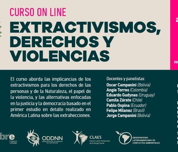 Curso Extractivismos, Derechos y Violencia
