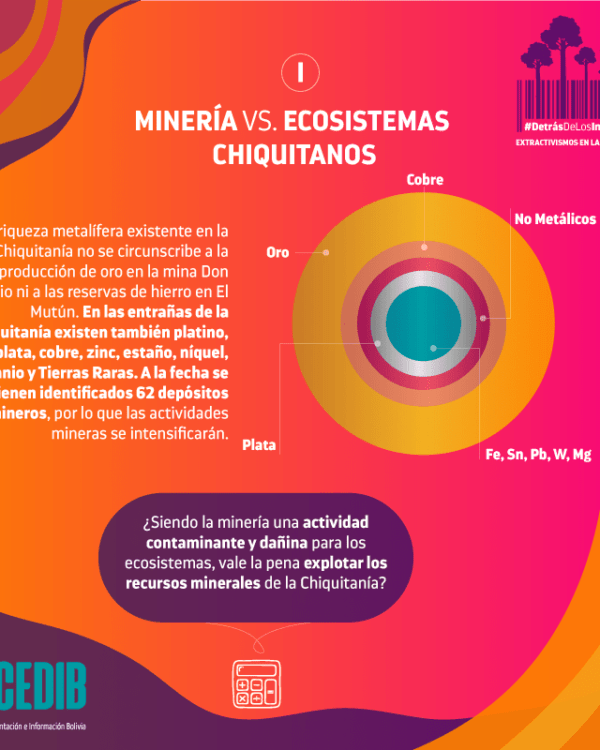 ¿Qué deja la minería de oro en la Chiquitania?