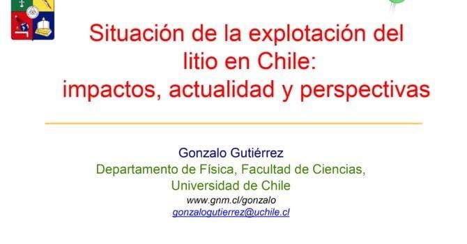 Situación de la explotación del litio en Chile:  impactos, actualidad y perspectivas (22.2.21)